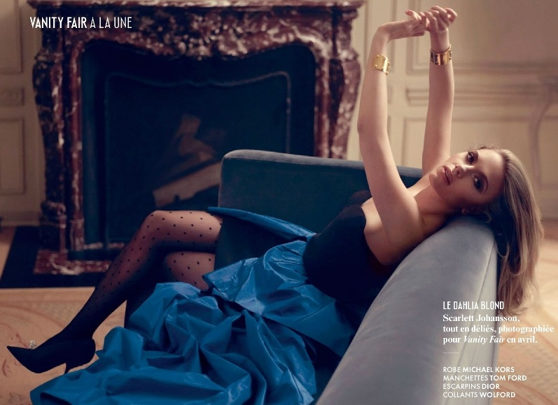 Скарлетт Йоханссон в июльском номере журнала VANITY FAIR France