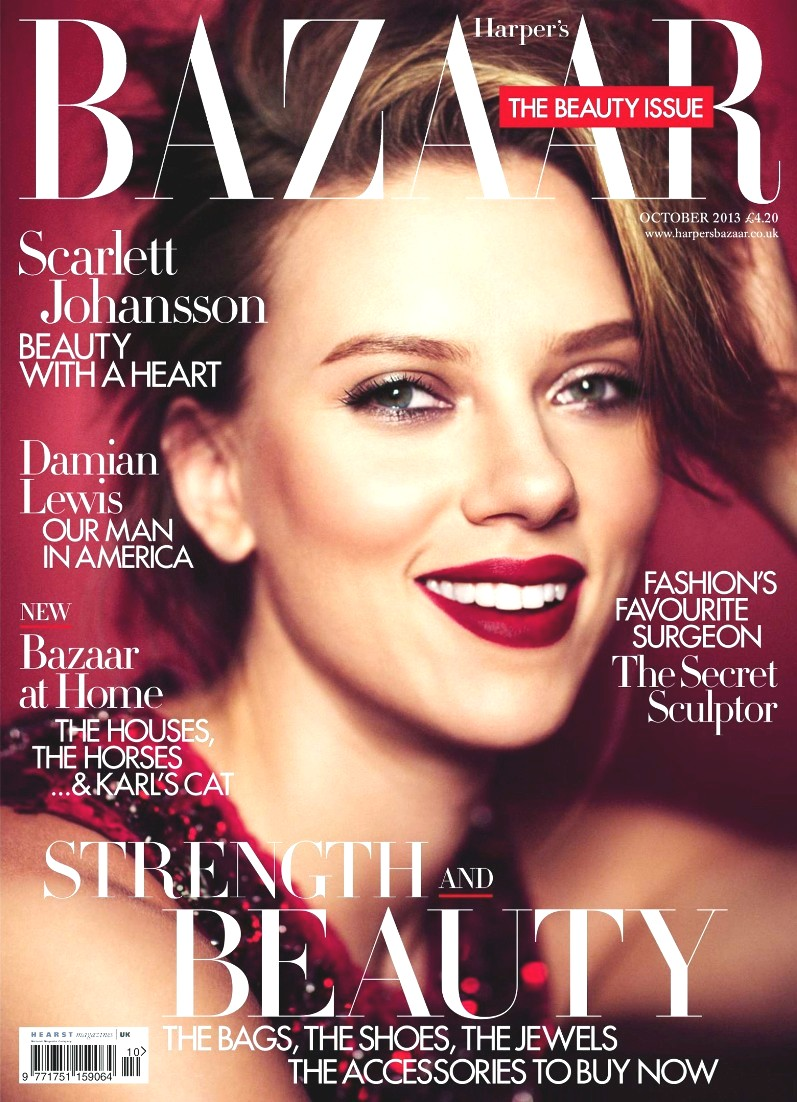 Скарлетт Йоханссон для журнала HARPER'S BAZAAR UK, октябрь 2013