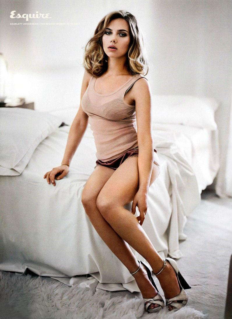 Скарлетт Йоханссон для Esquire USA, ноябрь 2013