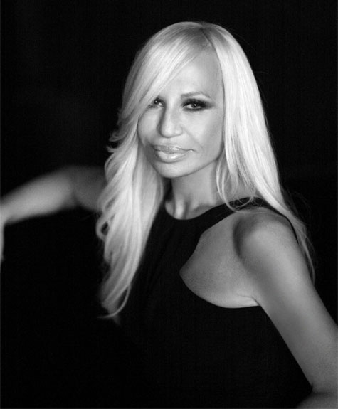 donatella versace arms