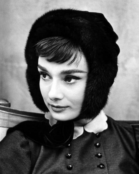 Одри Хепберн в роли Наташи Ростовой, 1956 год
