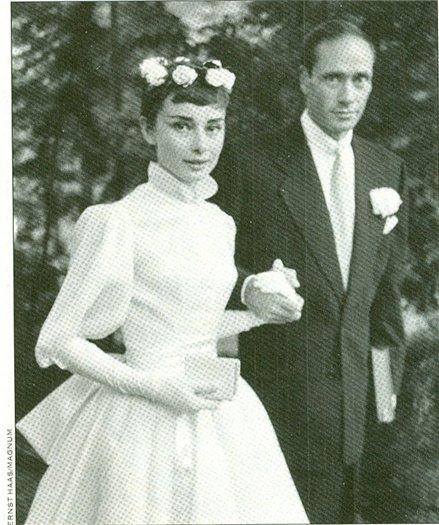 Одри Хепберн и Мел Феррер