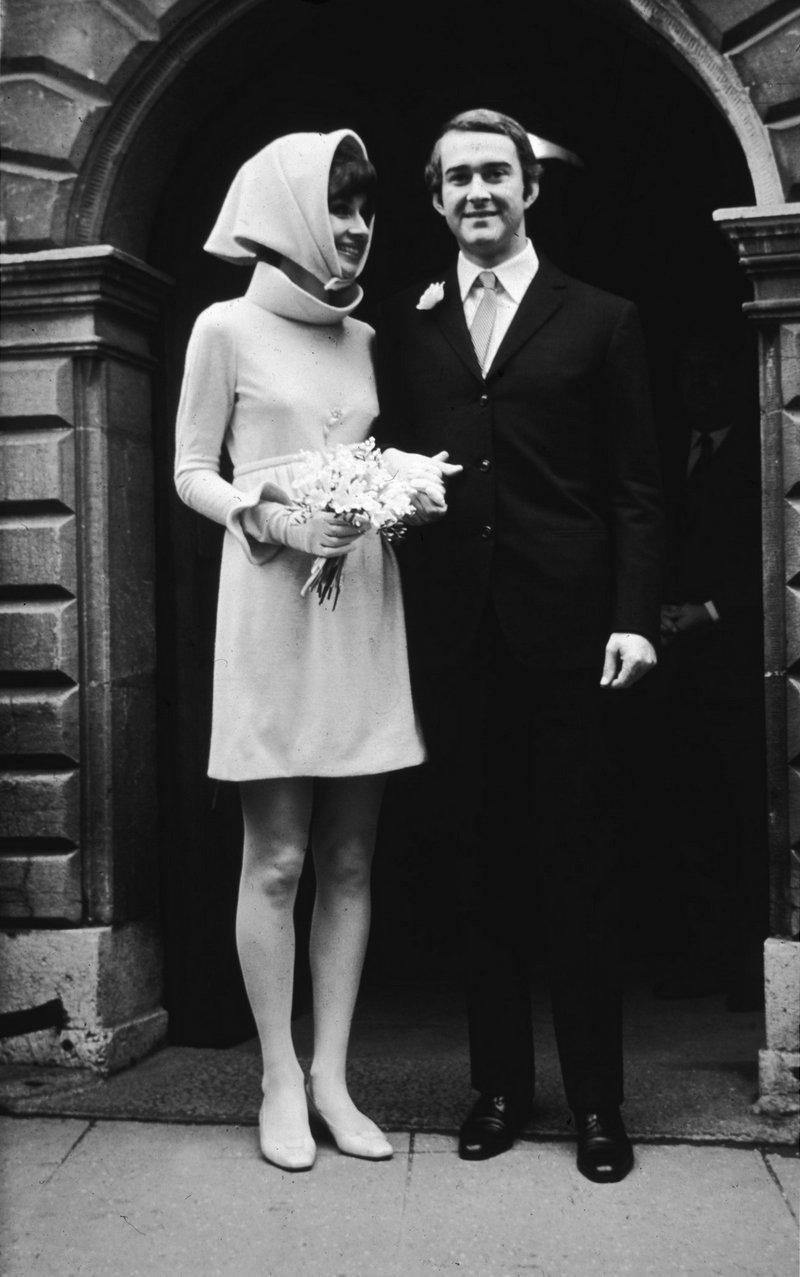 Свадьба Одри Хепберн и Андреа Дотти, 1969 год