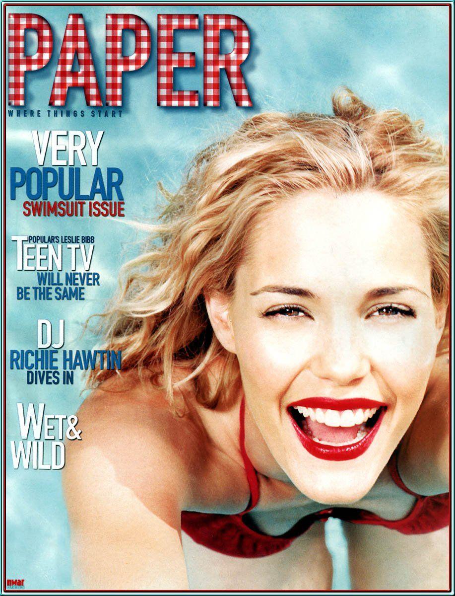 Лесли Бибб на обложках журналов