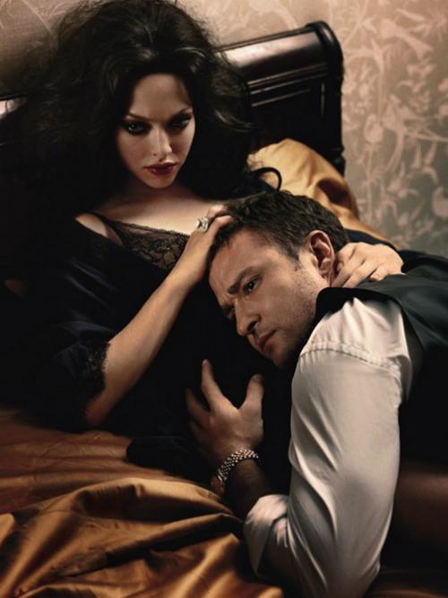 Джастин Тимберлейк и Аманда Сейфрид для W Magazine