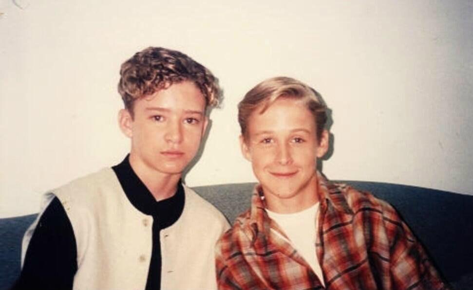 Джастин Тимберлейк и Райан Гослинг, 1994 год
