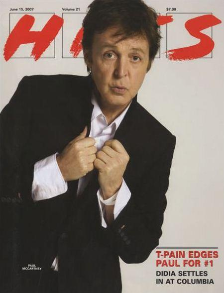 Пол Маккартни на обложках журналов