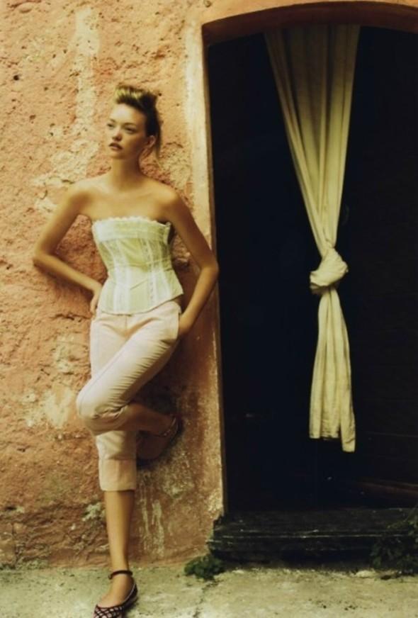 Джемма Ворд и Джош Хартнетт для Vogue US