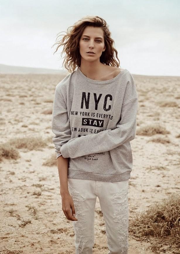 Дарья Вербова для Vogue UK, март 2014