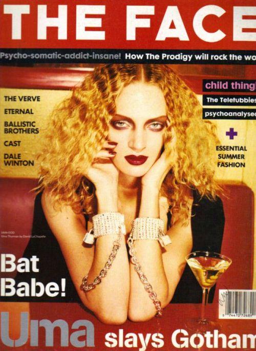 Ума Турман на обложках журналов