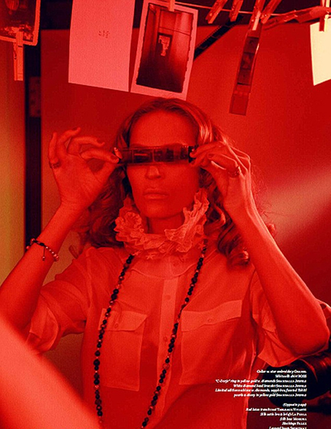 Ума Турман в фотосессии Эллен фон Унверт для Vs. Magazine, осень-зима 2014