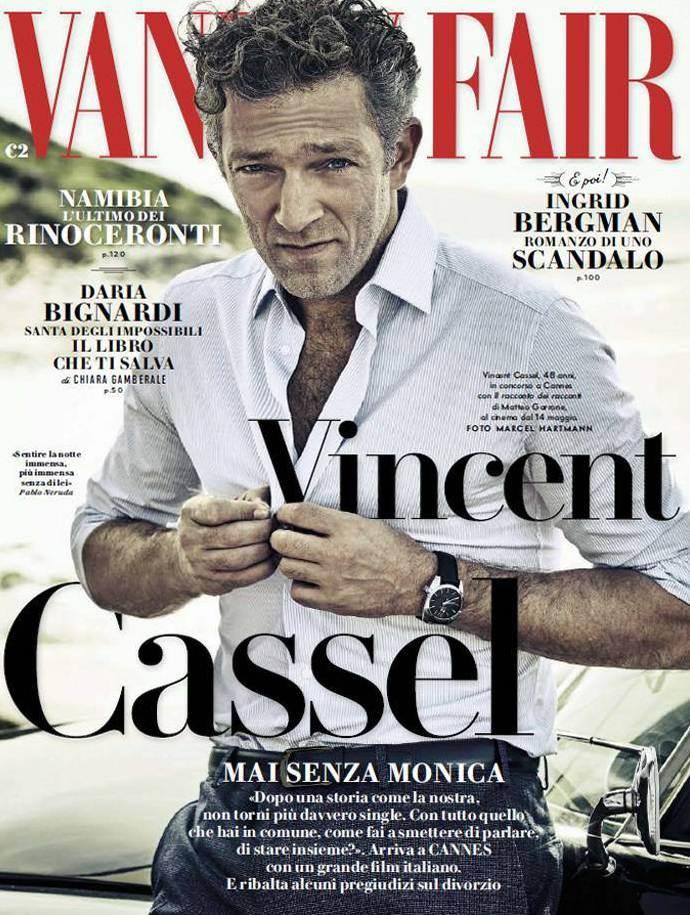 Венсан Кассель для Vanity Fair Italia, май 2015