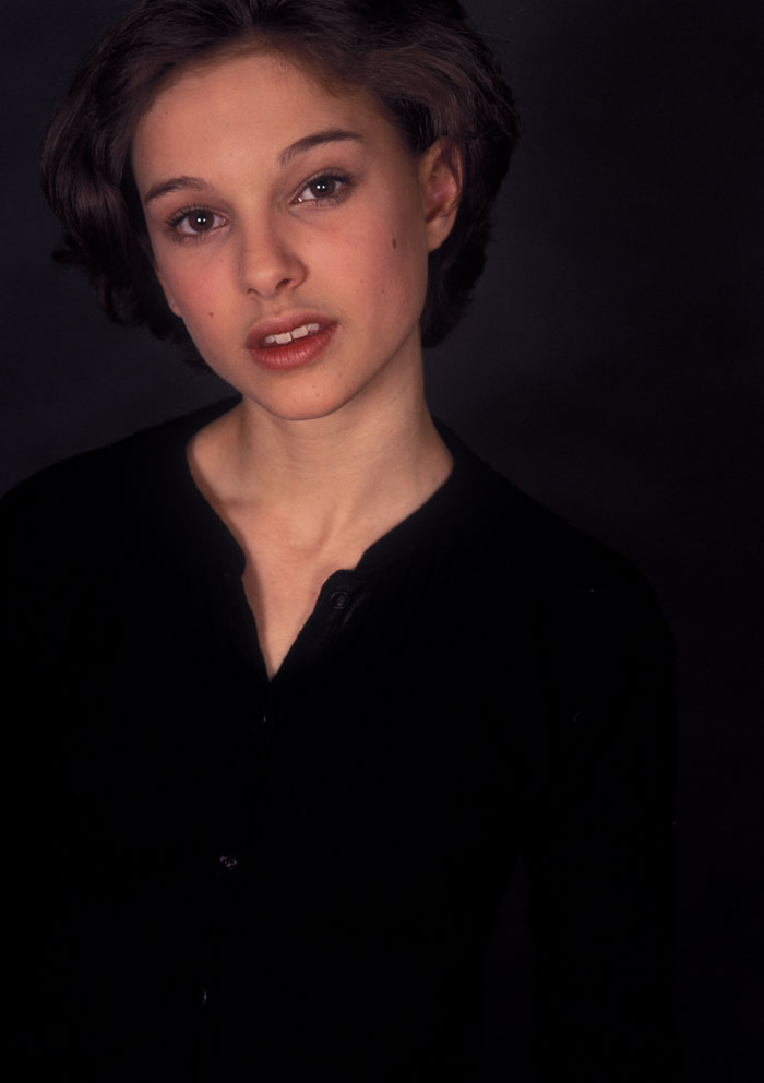 Натали Портман образца 1994 года (Фотосессия Кена Вайнгарта)