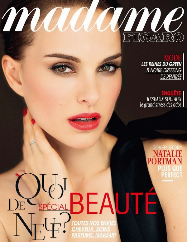 Натали Портман для Madame Figaro, сентябрь 2013