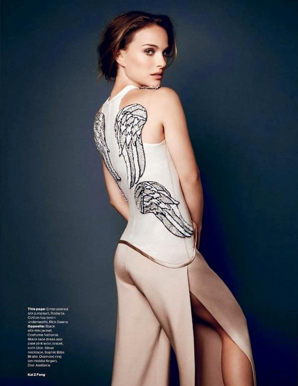 Натали Портман для Elle UK, ноябрь 2013