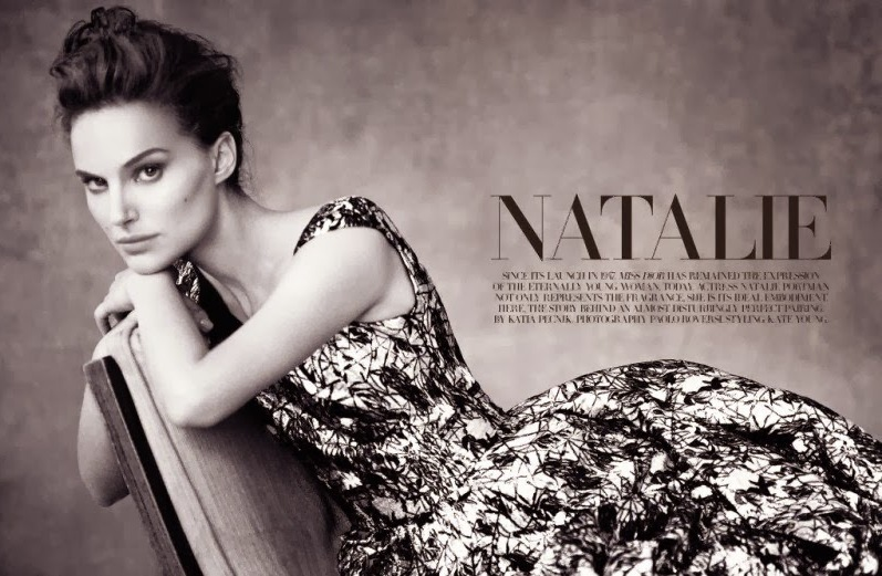 Натали Портман для Dior Magazine, весна 2014