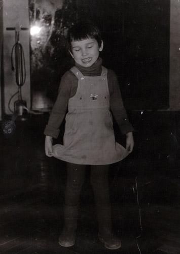 Анфиса Чехова в детстве