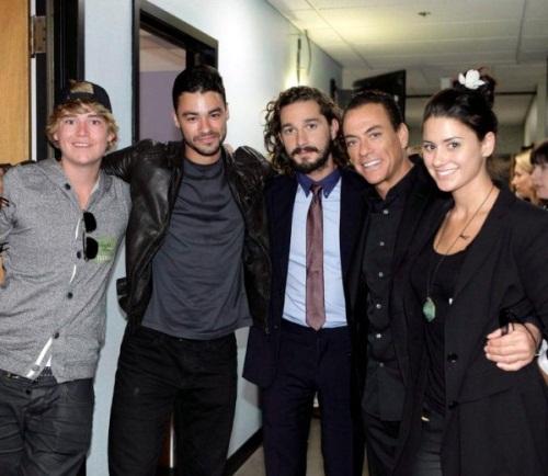 жан клод вандам и его семья фото