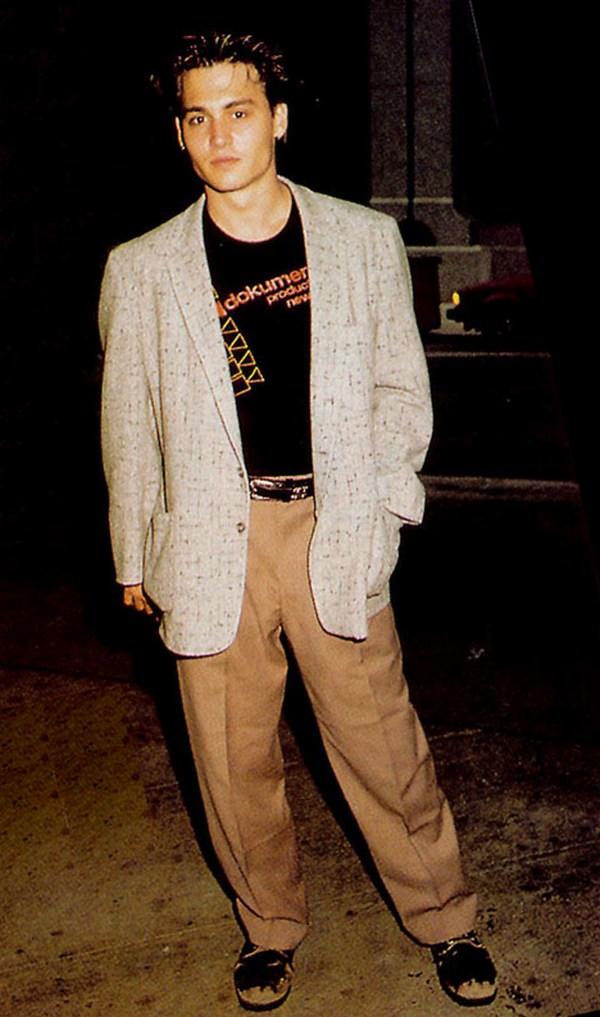 Джонни Депп в детстве и молодости