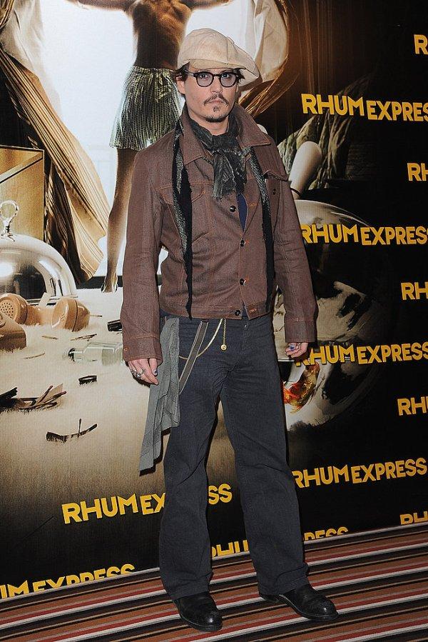 Эволюция стиля Джонни Деппа