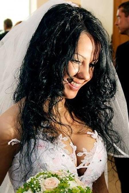 свадебные прически на длинные волосы лена беркова
