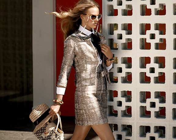Анна Вьялицына в каталоге Louis Vuitton