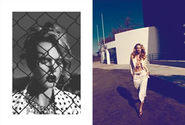 Анна Вьялицына для Harper's Bazaar Turkey