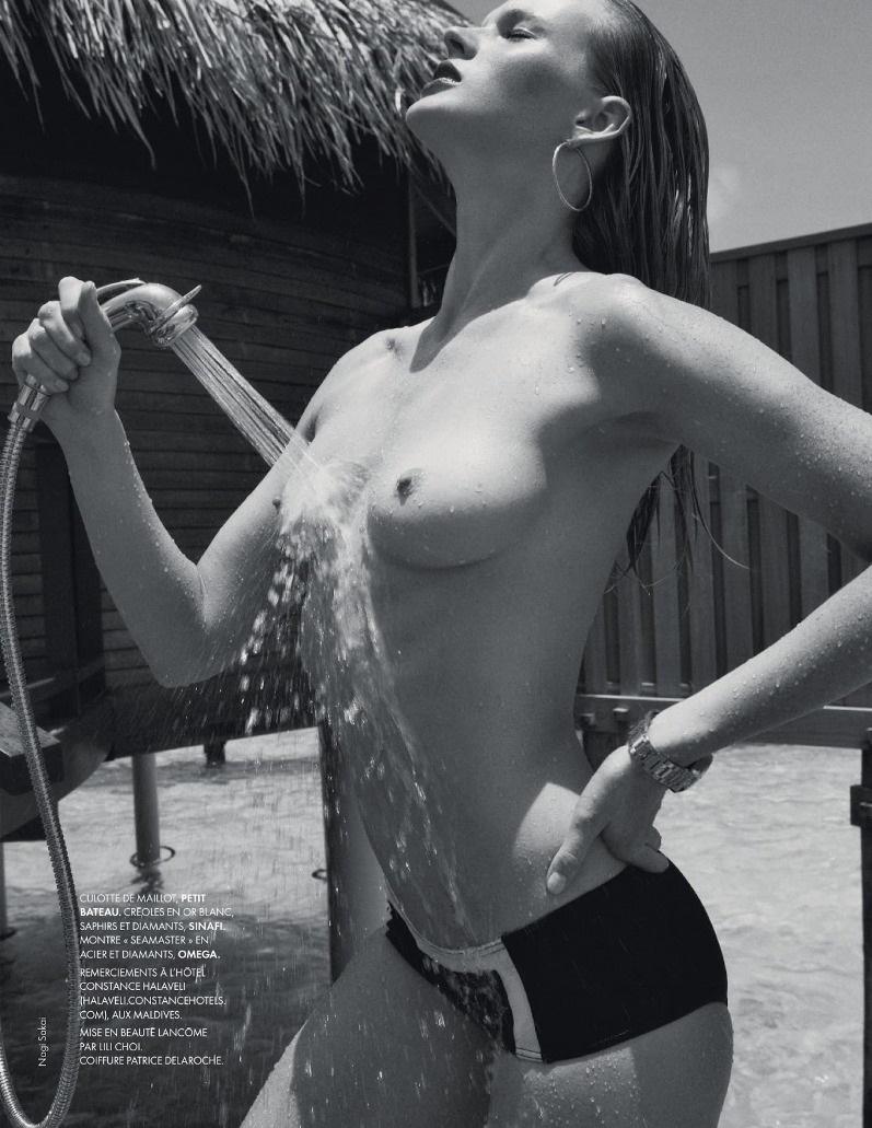 Анна Вьялицына для ELLE France (31 мая 2013)