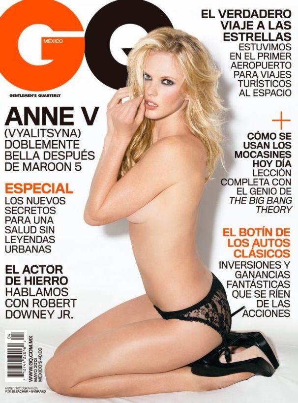 Анна Вьялицына на обложках журналов