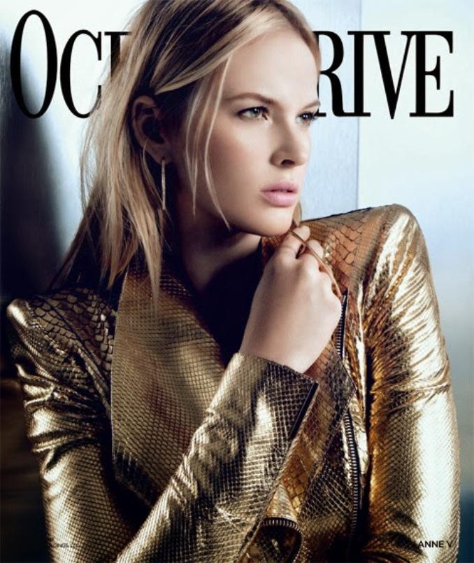 Анна Вьялицына для Ocean Drive Magazine, февраль 2014