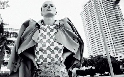 Анна Вьялицына для Marie Claire Italia, апрель 2014