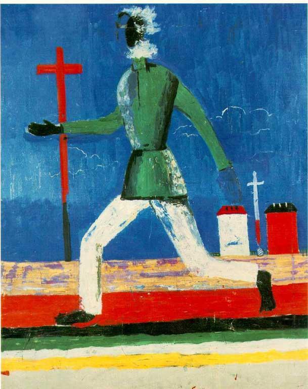 Казимир Малевич: галерея картин