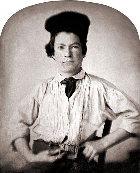 Марк Твен в молодости