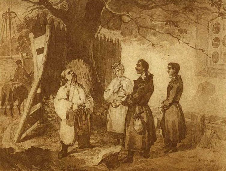 Картины Тараса Шевченко