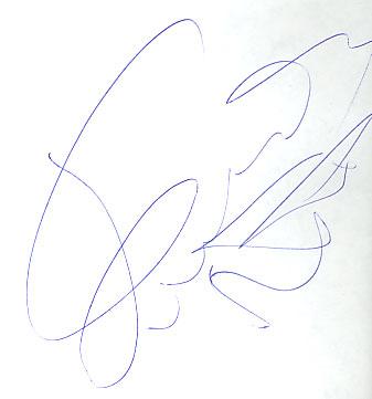 автограф гуфа фото