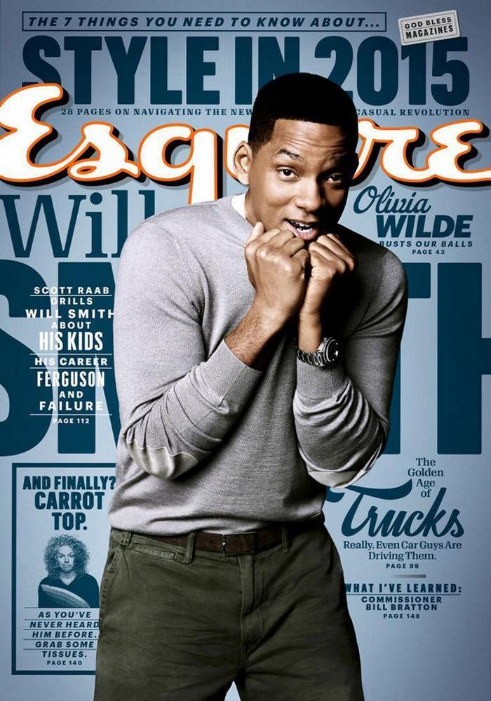 Уилл Смит для Esquire, март 2015