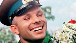 Биография в картинках Юрия Гагарина