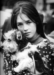 Изабель Аджани в молодости
