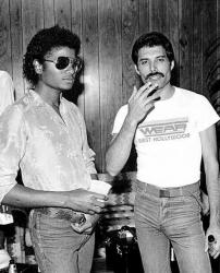 Майкл Джексон и Фредди Меркьюри, 1980 год