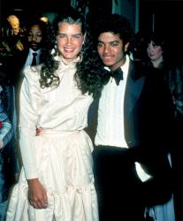"""Брук Шилдс и Майкл Джексон на церемонии вручения премии """"Оскар"""", 1981 год"""