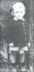 Валерий Лобановский в детстве
