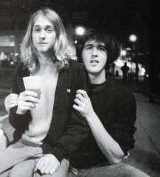 Курт Кобейн и Крист Новоселич, 1988 год