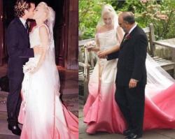 Свадьба: Гвен Стефани и Гевина Росдейла