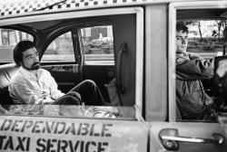 "Мартин Скорсезе и Роберт Де Ниро на съемках фильма ""Таксист"", 1975 год"