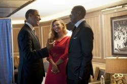 Барак Обама, Джей-Зи и Бейонсе