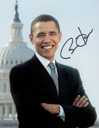 Автограф Барака Обамы