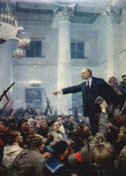 Картины с В.И. Лениным