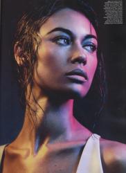 Ольга Куриленко для Wonderland Magazine