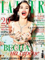 Ольга Куриленко для Tatler Ru, март 2014