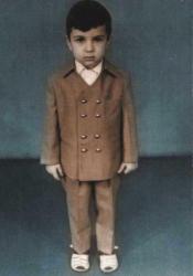 Евгений Гришковец в детстве